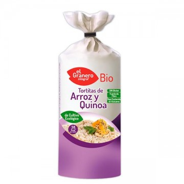Tortitas Arroz Quinoa Bio 115 gr Granero