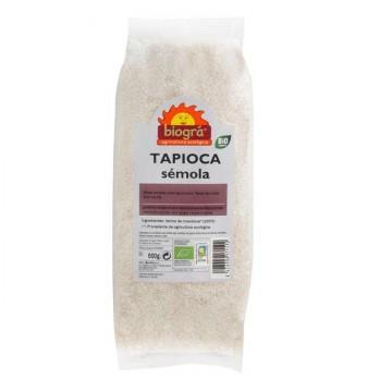 TAPIOCA SEMOLA Bio 500 gr Biogra