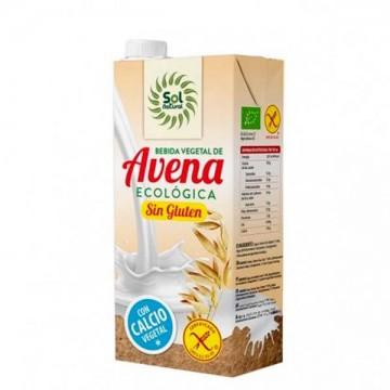 BEBIDA AVENA + CALCIO Sin Gluten Bio 1L
