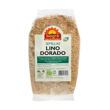 LINO DORADO Bio 500 gr Biogra