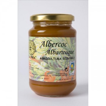 MERMELADA DE ALBARICOQUE  Eco 375 gr