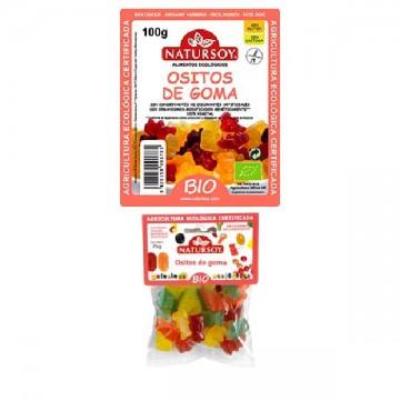 OSITOS DE GOMA Bio 100 gr Natursoy