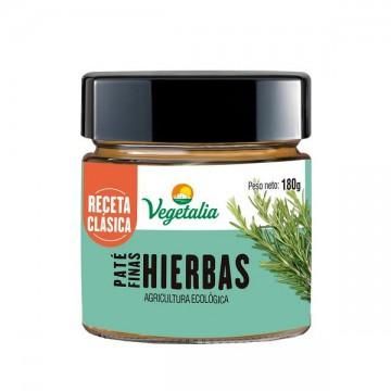 Pate Finas Hierbas Bio 180 gr Vegetalia
