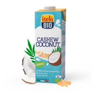 Bebida Coco y Anacardo  Bio 1L Isola