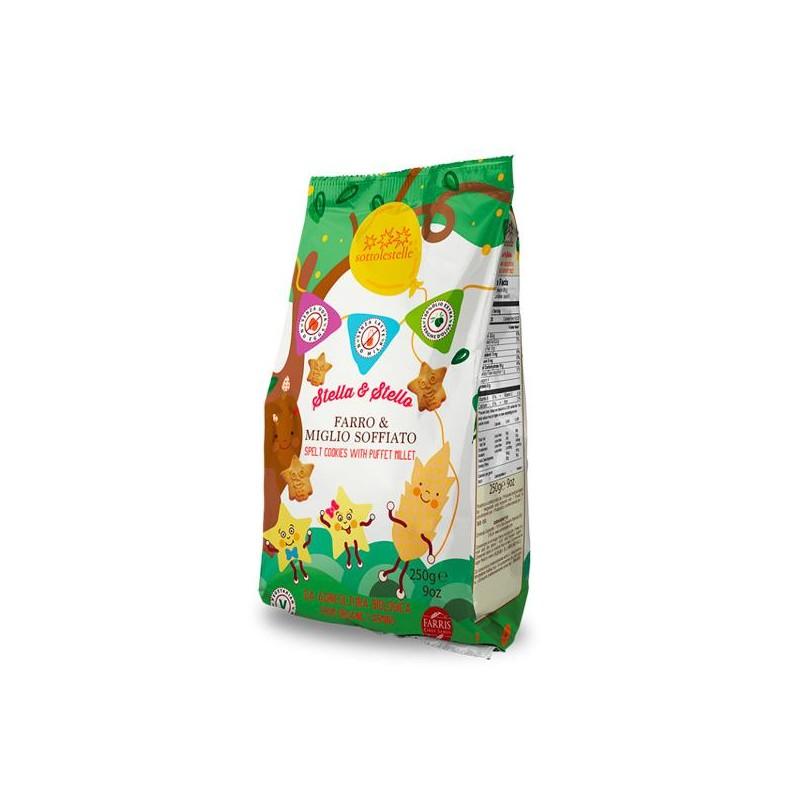 Galletas de Espelta con Mijo Bio 250 gr