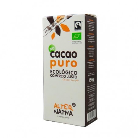 CACAO PURO POLVO Bio 150 gr Alternativa