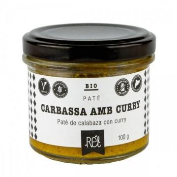 Pate Calabaza y Curry S/G Bio 100 gr Rel