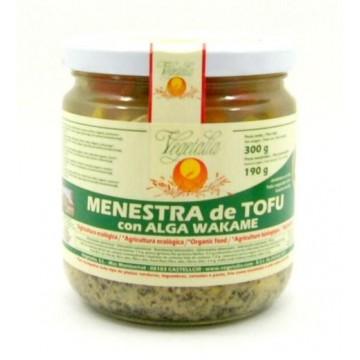 MENESTRA DE TOFU CON WAKAME bio 300 gr