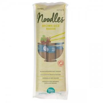 Noodles arroz con alga wakame bio 250 gr