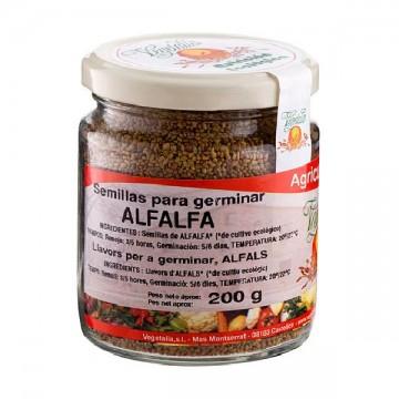 SEMILLAS DE ALFALFA Bio 200 gr