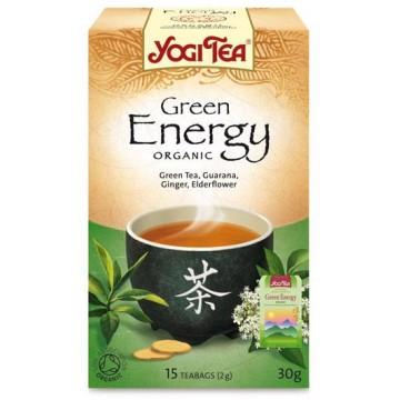 Yogi Tea Verde Energia Bio 17 filtros