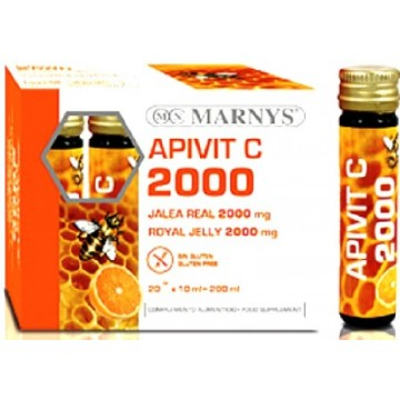 Apivit C 2000 mg 20 viales Marnys