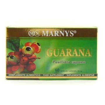 GUARANA 500 mg 60 capsulas Marnys