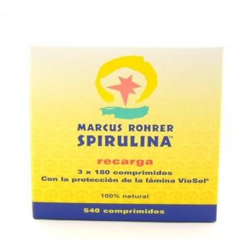 Spirulina de Marcus 540 comp Marcus