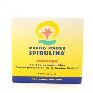 ESPIRULINA RECARGA Bio 540 comp Marcus R
