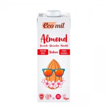 BEBIDA ALMENDRA NATURAL Bio 1L EcoMil