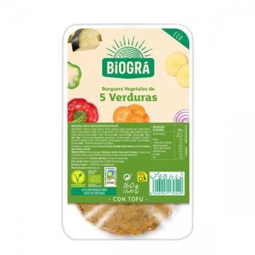 Hamburguesa Vegetal 5 Verduras 2 ud
