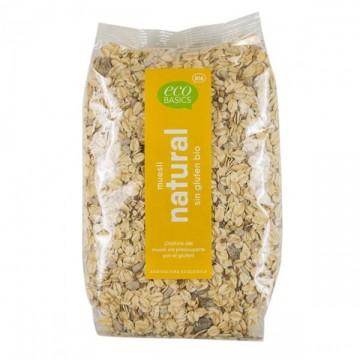 Muesli Natural Sin Gluten Bio 500 gr