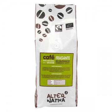 Cafe fragante en grano Bio 500 gr