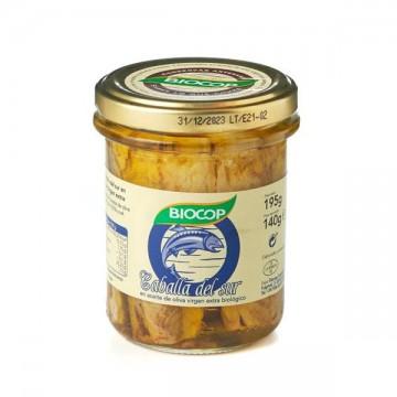 Filetes de Caballa Bio 195 gr Biocop
