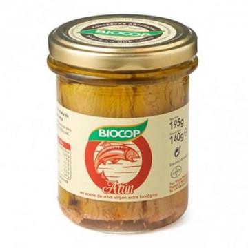 Filetes de Atun Bio 195 gr Biocop