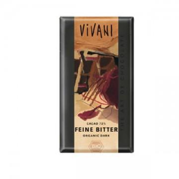 CHOCOLATE NEGRO 71% Bio 100 gr Vivani