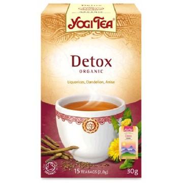 Yogi Tea Purifica Detox  Bio 17 filtros