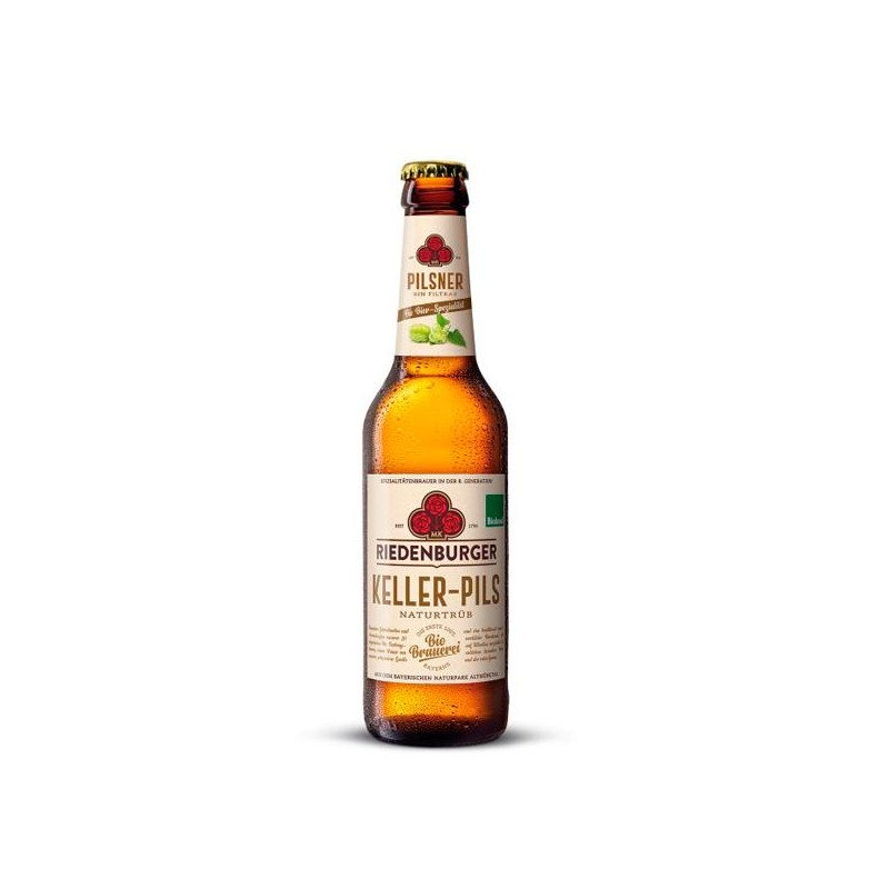 Cerveza Pilsner Bio 33 cl Riedenburguer