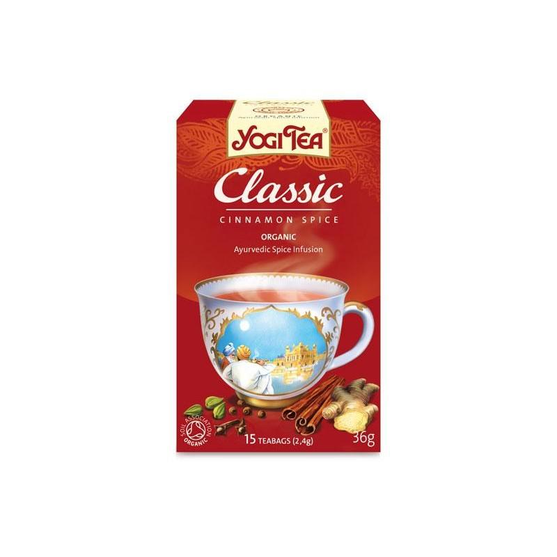YOGI TEA CLASSIC Bio 17 filtros