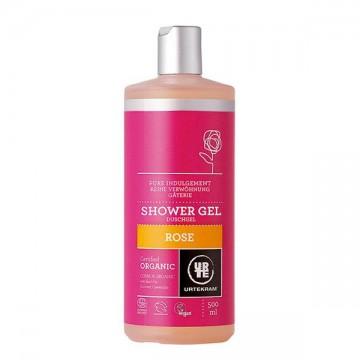 Gel de baño Rosas  Bio  500 ml Urtekram