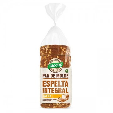 Pan molde Espelta Int. Avena Bio 400 gr