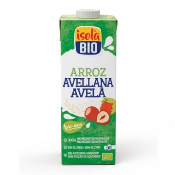 Bebida Arroz Avellana 1 L Isola Bio