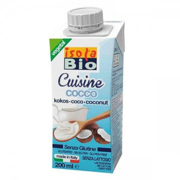 Crema coco para cocinar bio 200 ml
