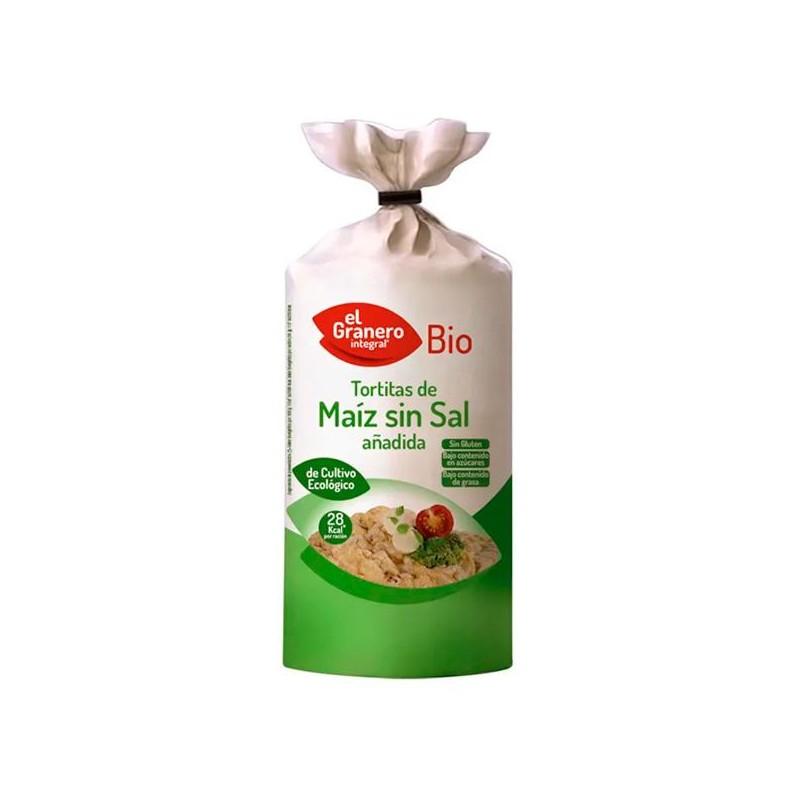 Tortitas de Maiz S/Sal Bio 110 gr