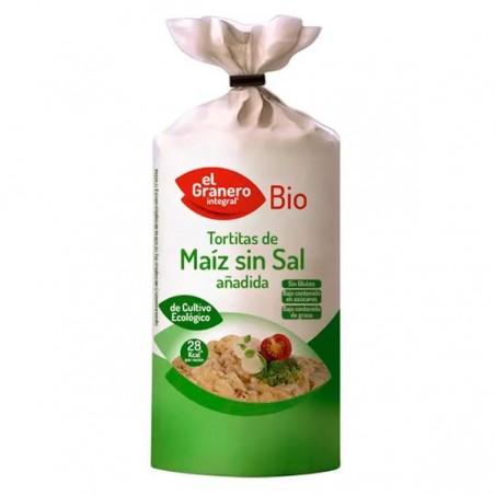 Tortitas Maiz Sin Sal Bio 110 gr
