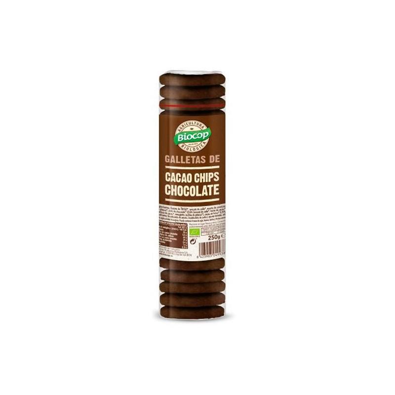 Galleta Cacao con chips Choco Bio 250 Gr