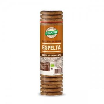 Galleta Espelta Choco Bio 250 gr Biocop