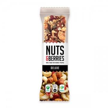 Barrita Deluxe Nuts&Berries  Bio 40 gr