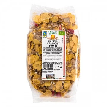 MUESLI CRUNCHY FRUITS Eco 250 gr