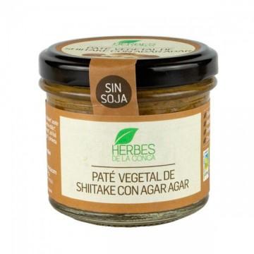 Pate Vegetal Shiitake con Agar Agar Bio
