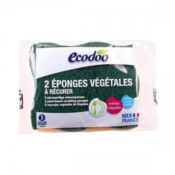 Esponja Estropajo 2 unid Ecodoo