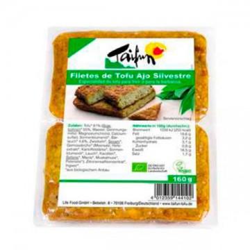 Filete de Tofu Ajo Silvestre Bio 160 gr