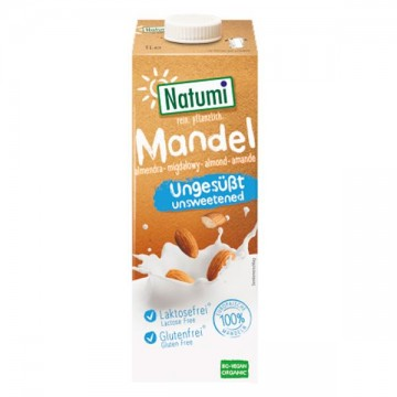 Bebida Almendra s/azucar Bio 1 L Natumi