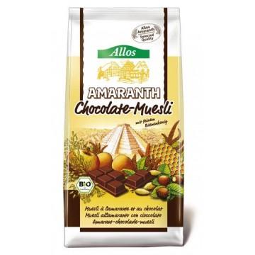MUESLI CON AMARANTO Y CHOCO 400 gr Bio