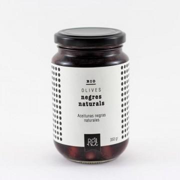 Aceitunas Negras Bio 200 gr Rel