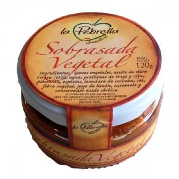 SOBRASADA VEGETAL 120 gr La Pebrella