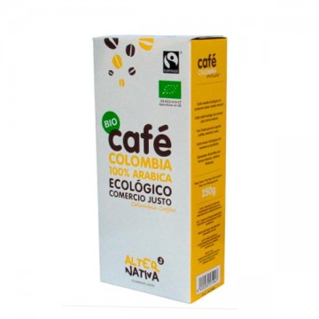Cafe Colombia Molido Bio 250 gr