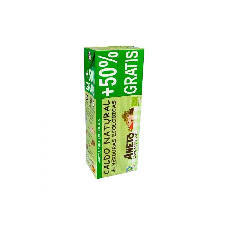 Caldo natural verduras Bio 1.5 L  Aneto