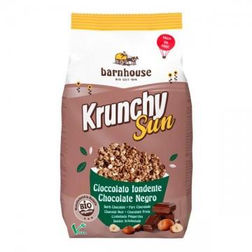 KRUNCHY CHOCOLATE Y AVELLANAS Bio 375 gr