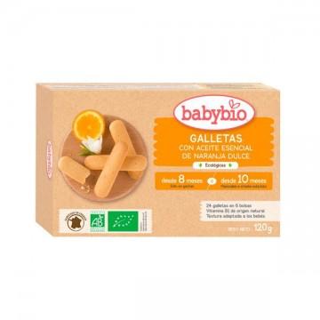 Galletas Naranja Bio 120 gr Babybio